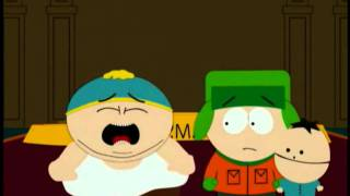 getlinkyoutube.com-Kenny punches Cartman in the face! - Southpark