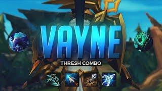 Doublelift- INSANE VAYNE THRESH COMBO