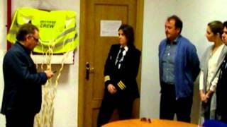 getlinkyoutube.com-Privilege Style. Nombramiento de María Aranda como Comandante