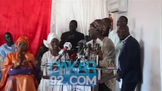Vidéo – Présidentielle 2019 : Sokhna Dieng Mbacké derrière le président Macky Sall !