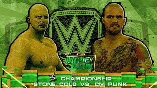 WWE 2K15/14: Stone Cold vs CM Punk - Money in the Bank PPV - (Custom Promo & Championship Match)