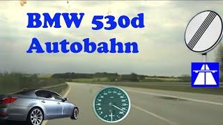getlinkyoutube.com-little bmw e60 530d german autobahn drive
