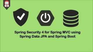 getlinkyoutube.com-Spring Security using Spring Data JPA and Spring Boot