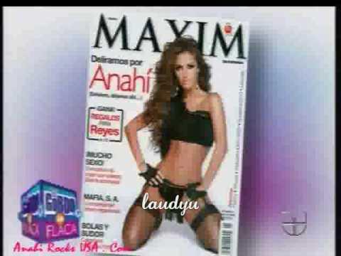 Anahí posó muy sensual para la revista Maxim (EGYLF)