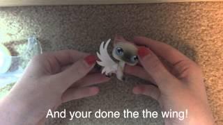 getlinkyoutube.com-DIY LPS angel wings