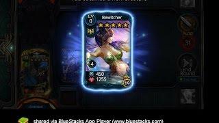 getlinkyoutube.com-Deck Heroes: Map 15-12 Hard Reward (Bewitcher)