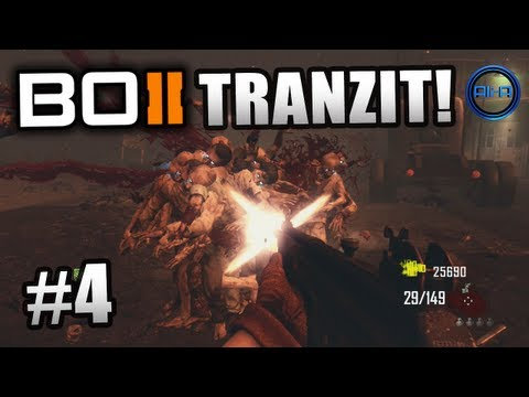 "BLACK OPS 2 Zombies Tranzit ! Ali-A LIVE ""Green Run"" Part 4! - Call of Duty: BO2 Zombies Gameplay"