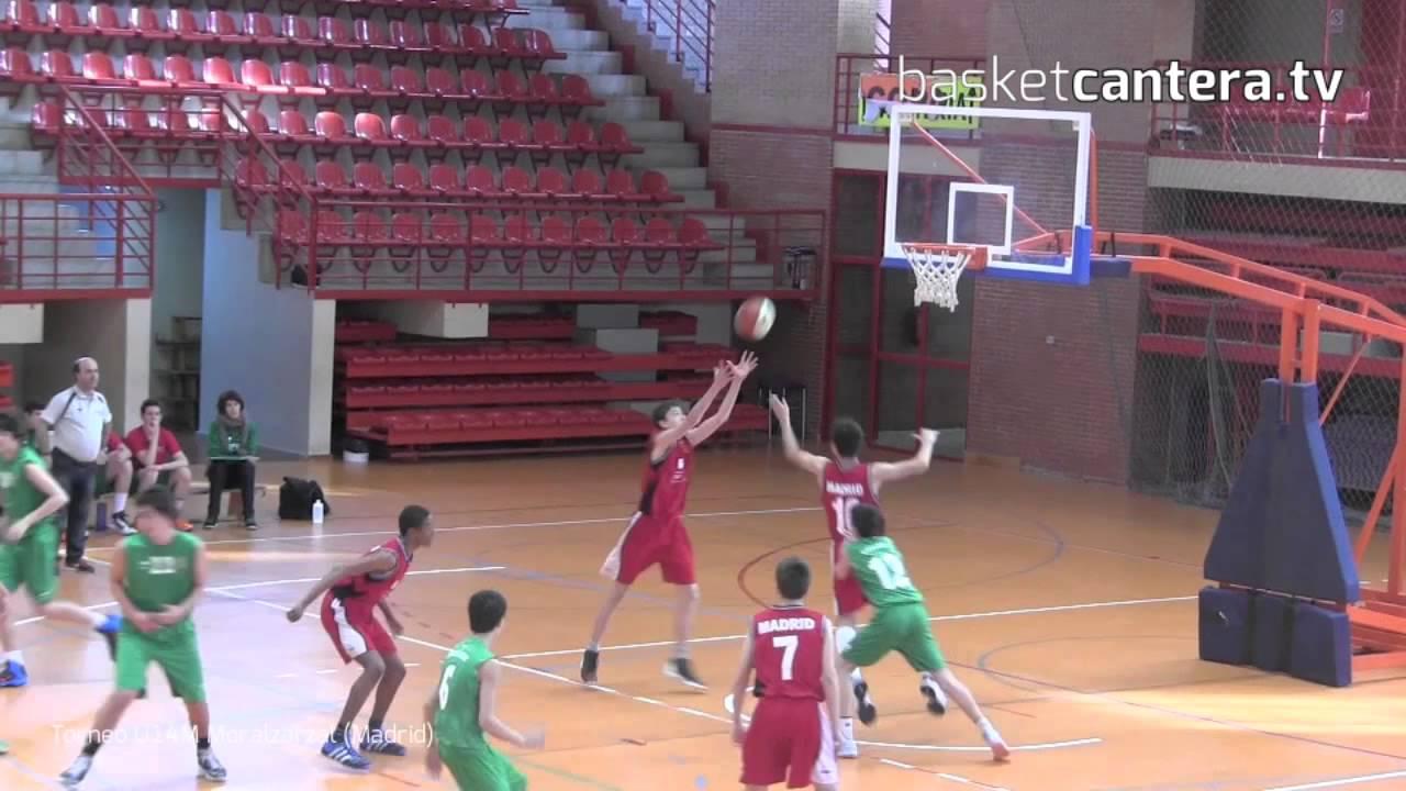 U14M - Selec. MADRID vs PAÍS VASCO.- Torneo Infantil Masc. Moralzarzal (BasketCantera.tv)