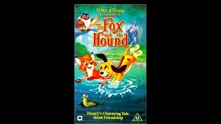 Opening To The Fox And The Hound UK VHS [1995]