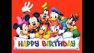 getlinkyoutube.com-Happy, Happy Birthday - Disney Song