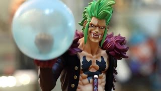 getlinkyoutube.com-Unboxing POP Bartolomeo figure by Megahouse  -One Piece-