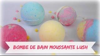 getlinkyoutube.com-✁ DIY - LUSH Bombes de bain moussante - FRANCAiS