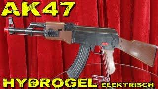 """""""AK 47 HYDROGEL ELEKTRISCH"""" -Besser als die Gatling ?"""