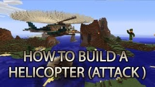 getlinkyoutube.com-Minecraft Xbox 360: How to Build a Helicopter (ATTACK FIGHTER) cRz Build Team