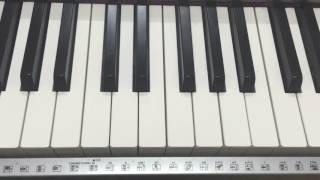 getlinkyoutube.com-تعليم عزف نغمة الايفون على البيانو - سهل جداً How to play iphone ringtone