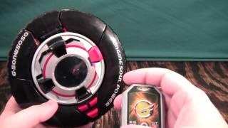 getlinkyoutube.com-Engine Sentai Go-Onger GoRoader Review (Power Rangers RPM Road Attack Zord GT)