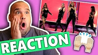 getlinkyoutube.com-Fifth Harmony - Work from Home (Live at the 2017 People's Choice Awards) REACTION