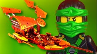 getlinkyoutube.com-LEGO Ninjago 70738 Final Flight of Destiny's Bounty