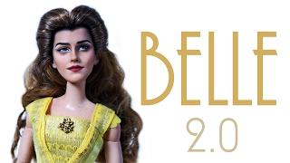 getlinkyoutube.com-Emma Watson Belle Doll 2.0 [ BEAUTY AND THE BEAST ]