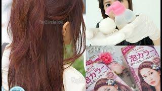 getlinkyoutube.com-เปลี่ยนสีผมง่ายๆด้วยตัวเองกับ Liese สีใหม่ Rose Tea Brown