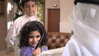 getlinkyoutube.com-دعاية العيد لبنك الخليج 2014 - Gulf Bank's Eid Commercial 2014