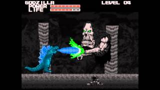 Warlock Audition for NES Godzilla Creepypasta Game