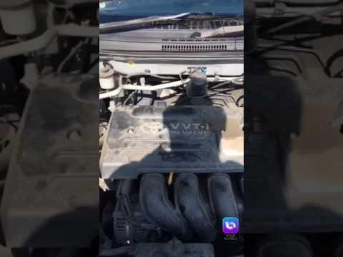 Замена натяжителя цепи ГРМ двигателя 1zz-fe
