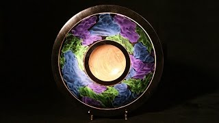 getlinkyoutube.com-Woodturning with Tim Yoder-Cosmic Clouds Platter