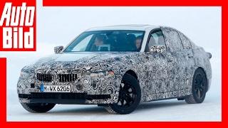 getlinkyoutube.com-Erlkönig BMW 3er - Erste Details/Testfahrt im Schnee (2018)
