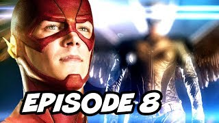 getlinkyoutube.com-The Flash Season 2 Episode 8 Arrow Crossover - TOP 10 WTF and Easter Eggs