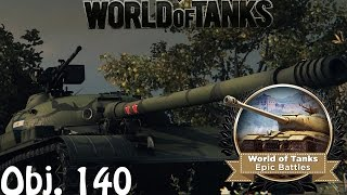 getlinkyoutube.com-Wot EB - Obj 140 over 10k dmg