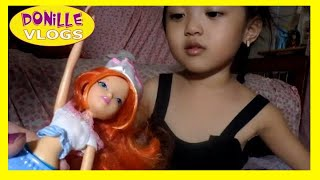 getlinkyoutube.com-Winx Club dolls - Fairy friends doll - Bloom w/ mermaid tail. Funny Family!