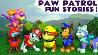 getlinkyoutube.com-Paw Patrol Toys Episodes Compilation of Fun and Rescues with Skittles and Surprise Eggs TT4U
