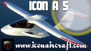 getlinkyoutube.com-ICON Aircraft, ICON A5 spin resistant amphibious light-sport-aircraft.