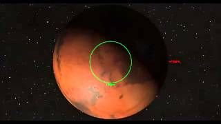 getlinkyoutube.com-Comet A1 Siding Spring vs Mars