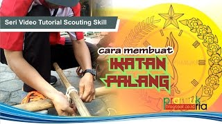 getlinkyoutube.com-Cara Membuat Ikatan Palang (Square Lashing)