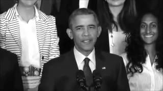 getlinkyoutube.com-Obama Singing Drake's Hotline Bling