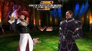 getlinkyoutube.com-[KOF Memorial Lv.2 UM] Iori Yagami vs Clone Zero