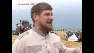 getlinkyoutube.com-Ростсельмаш - Рамзан Кадыров за рулем VECTOR 410