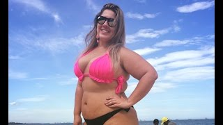 getlinkyoutube.com-MANU ANDRADE - PLUS SIZE MODEL by CHOCOLATE