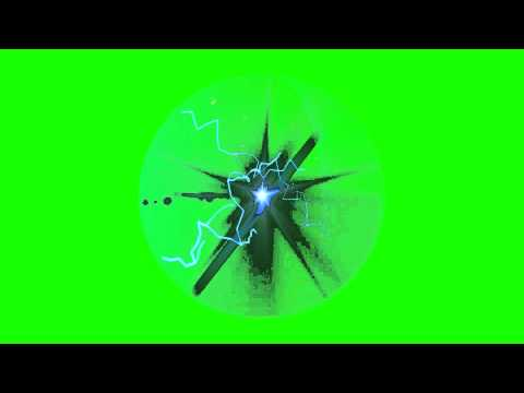 Naruto Rasengan Krillin Gohan - Energy Ball - Green Screen Animation