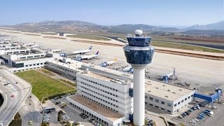 getlinkyoutube.com-Athens International Airport 2013 - LGAV - behind the scenes at Greece's largest airport!