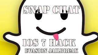 iOS 7 Jailbreak Tweak: Phantom (Snapchat Hacker)