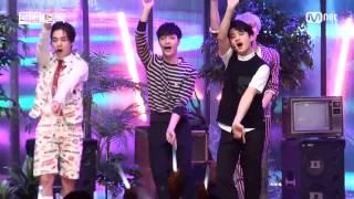 getlinkyoutube.com-150604 Love Me Right EXO LAY Fancam @Mnet MCOUNTDOWN