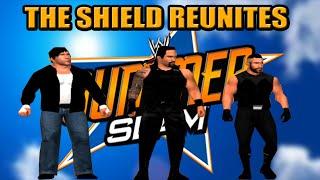 getlinkyoutube.com-WWE PREVIEW THE SHIELD REUNITE SUMMER SLAM 2014 SVR 11 PS2