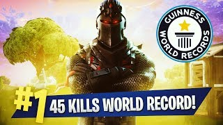 45 KILLS WORLD RECORD -  TEEQZY VS SQUAD ( FORTNITE BATTLE ROYALE GAMEPLAY SOLO VS. SQUAD ) width=