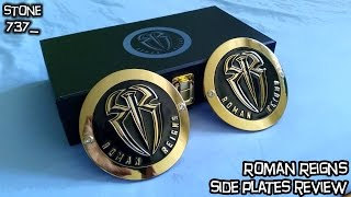 getlinkyoutube.com-Roman Reigns side plates (for the WWE Championship) review