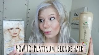 getlinkyoutube.com-How To: Platinum Blonde Hair | Always Andrea