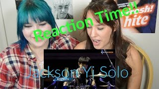 getlinkyoutube.com-Reaction Time!! // Jackson Yi Drum And Dance Solo *Is There Anything He Can't Do?*