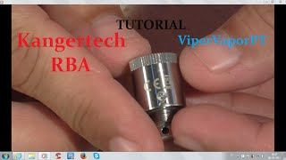getlinkyoutube.com-How to Wick and Coil New RBA Subtank Mini for beginners